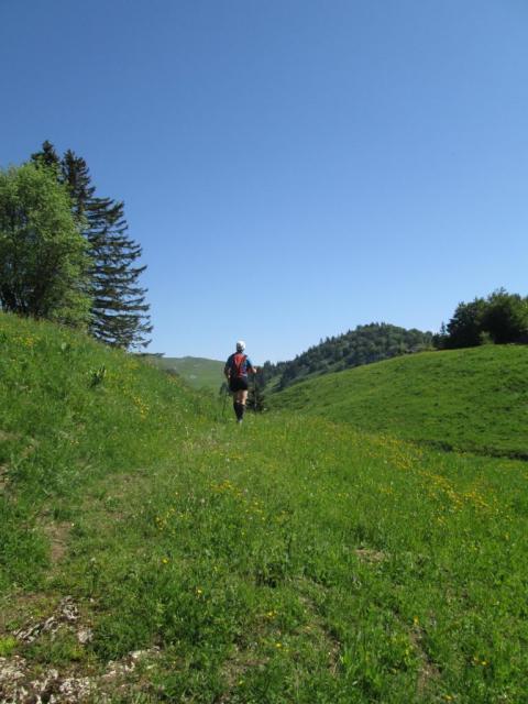 1.Arrivée Plateau de Plaine Joux