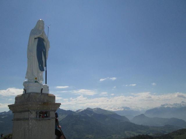20.Pointe de Miribel et sa Vierge