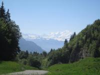 3.Vue Mont Blanc depuis Rocher Blanc
