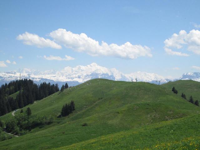 35.Téléski de la Mouille et Le Mont Blanc !